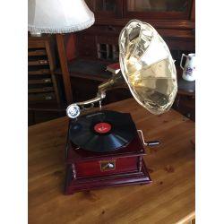 Brass Horn Gramaphone