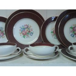 Staffordshire Dinner Set.