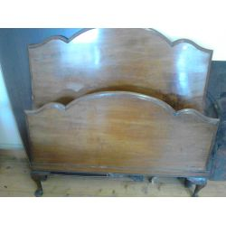 Mahogany Bed Ends