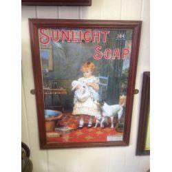 Old Framed Advertisements