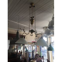 Adjustable Pulley Ceiling Light