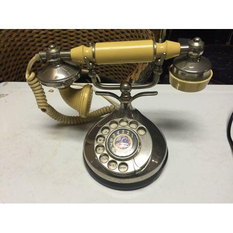 Vintage Chrome Telephone