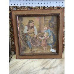 Old Framed Tapestry