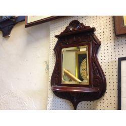 Hall mirror/shelf