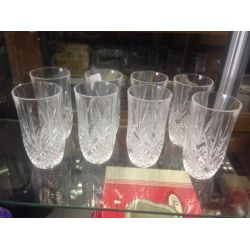 Cut Glass Tumblers
