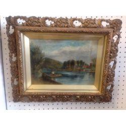 Pair of Antique Oil Paintings.
