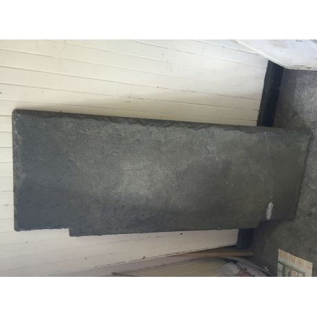 Old Slate Fireplace Hearth