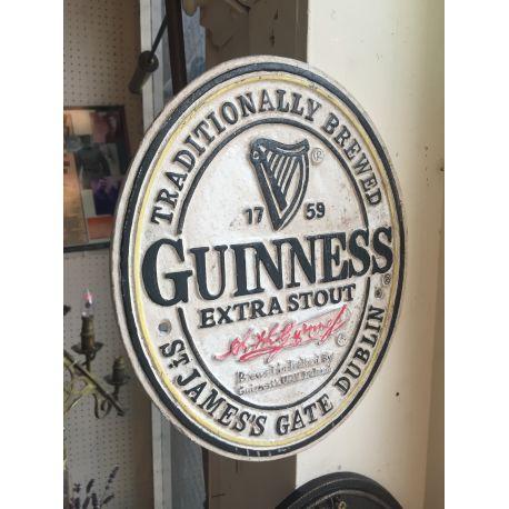 Cast Iron Guinness sign