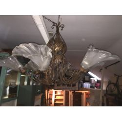 Pair of Large Ceiling lights