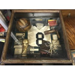 Old Football Shadow bow Display