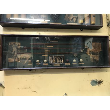Vintage Golfers Display Cabinet