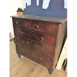 Victorian Chest Of Drawers