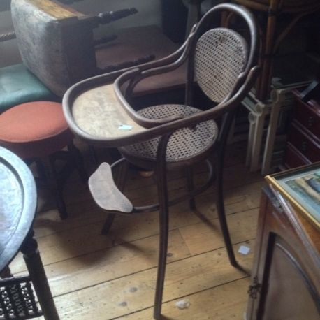 Bentwood High Chair - Old Bentwood High Chair