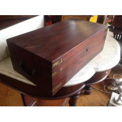 Antique Mahogany Box