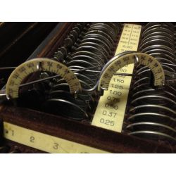 Antique Optometrist Trial Lens Set