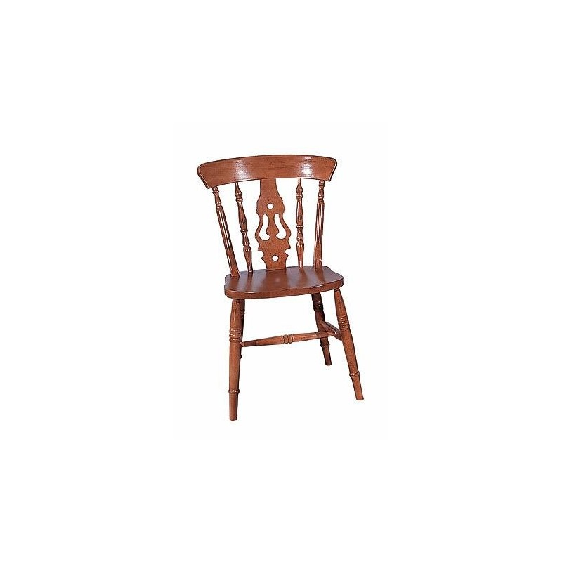 Wide Seat Fiddle Back Chair - Antiques @ Christy Birdu0026#39;s