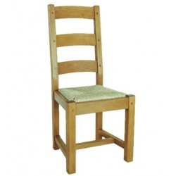 Shaker Ladder Back Rush Seat Chair