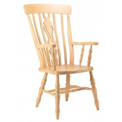 Windsor Fiddle Back Grandad Chair