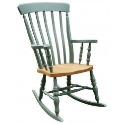Lath Back Rocking Chair Chair