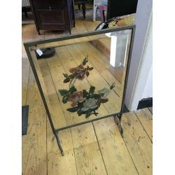 Fire screen with Mirror