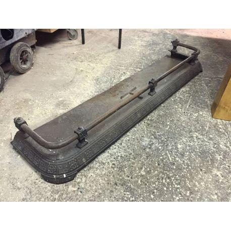 Antique Cast Iron Fender