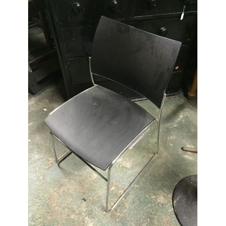 6 x Designer Stacking Chairs