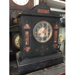 Slate & Marble Mantle Clock