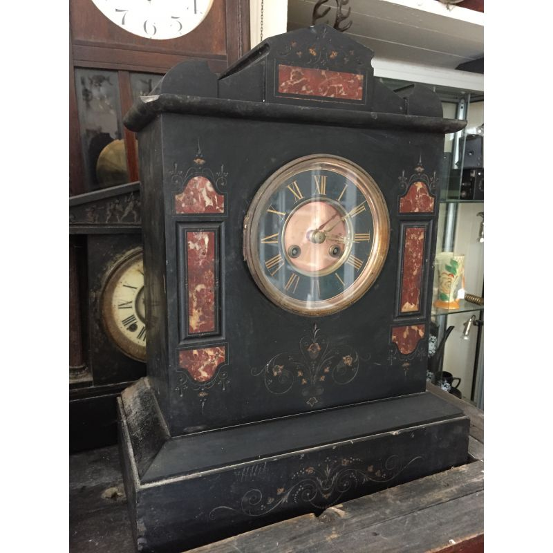 Slate Amp Marble Mantle Clock Antiques Christy Bird S