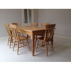 Classic Farmhouse Tables Lacquered