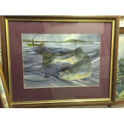 'Fly Fishing' Limited Print