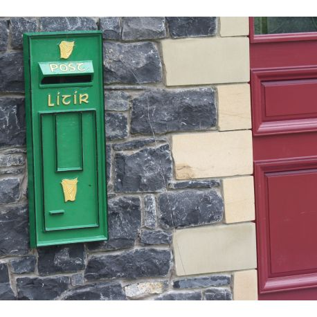 Irish Post Box Front