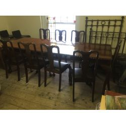 Extending Dinning Table & Chairs