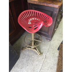 Vintage Style Tractor Seat Stools