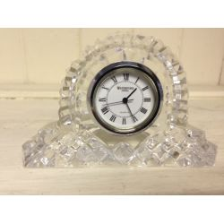 Waterford Crystal Clock