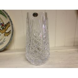 Tyrone Crystal Glass Flower Vase