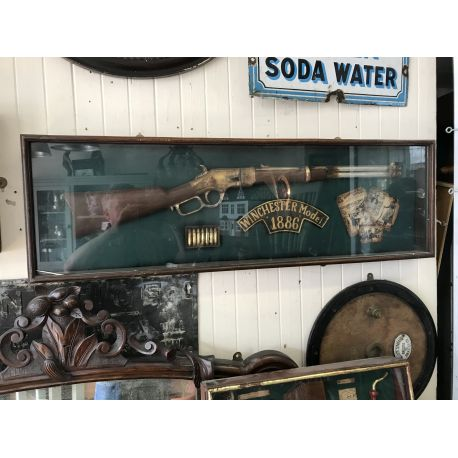 Winchester Rifle Display Case