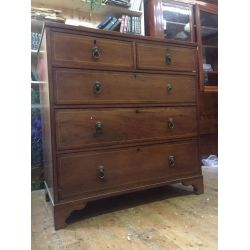 Georgain Mahogany Chest Of Drawers