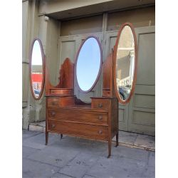 Edwardian Inlaid Dressing Table