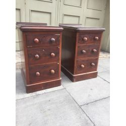 Antique Bedside Lockers