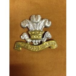 "WWI ""3rd (Prince of Wales's) Dragoon Guards Cap Badge"