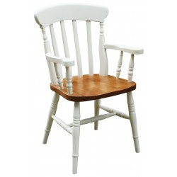 Lath Back Carver Chair