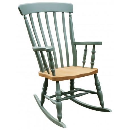 Lath Back Rocking Chair Chair